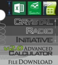 Advanced Crystal Radio Initiative Calculator