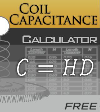 Coil Capacitance Calculator